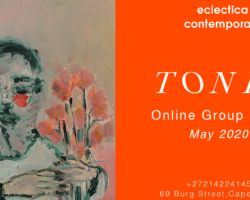 Tones Group Exhibition Eclectic Contemporary
